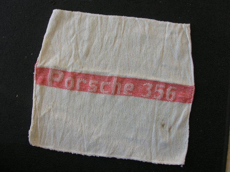 Porsche 356 A B C 550 911 Tool Box Towel Cotton Acessory
